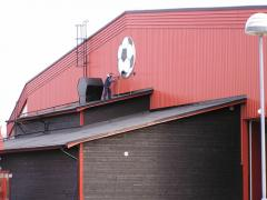 Spånga IP - Gavel på fotbollshallen